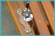 oar lock rigging